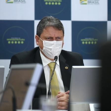 """""""Vamos ter que quebrar o piso e isso consiste em diminuir as vinculações orçamentárias"""", disse Tarcísio - Ricardo Botelho/MInfra"""