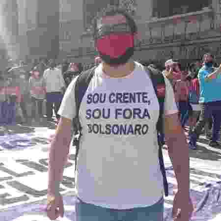 crente - Vinícius Vieira/UOL - Vinícius Vieira/UOL