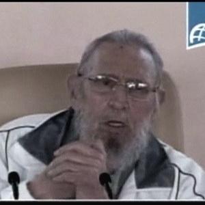 Esta é a primeira aparição pública de Fidel Castro desde 9 janeiro de 2014