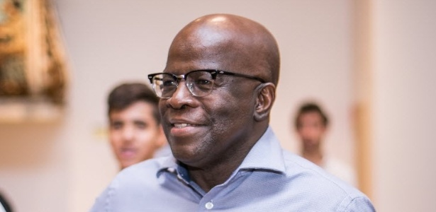 19.abr.2016 - Joaquim Barbosa, ex-presidente do Supremo Tribunal Federal
