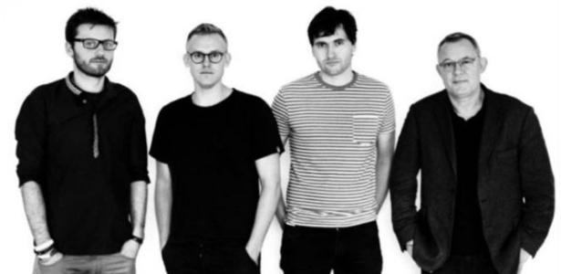 Federico (esquerda), Daniel, Pierre e Didier