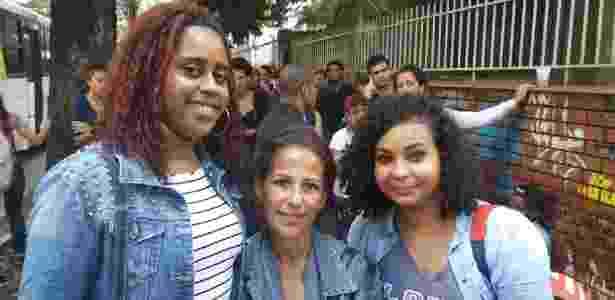 Eliane Cidade, Joelma Biebi e Emília Brasil (da esq. para a dir.) estão desempregadas - Marcela Lemos/UOL