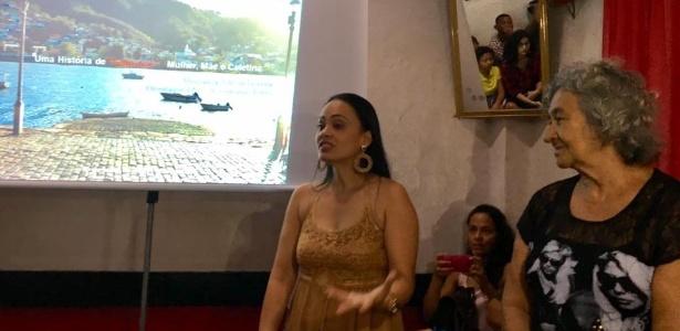 Pesquisadora Gleysa Teixeira defende dissertação de mestrado sobre Cabeluda (à dir.), dona de bordel em Cachoeira (BA)
