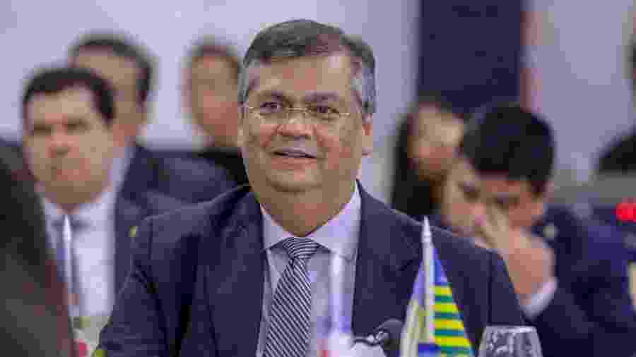22.ago.2019 - Governador Flávio Dino (Maranhão) na reunião do Consórcio Nordeste, em Teresina - Roberta Aline/Governo do Piauí