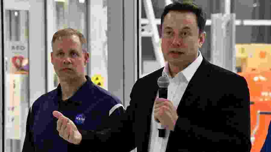 Júri de Los Angeles inocentou Musk (à direita na foto) de qualquer responsabilidade no caso - Gene Blevins/Reuters