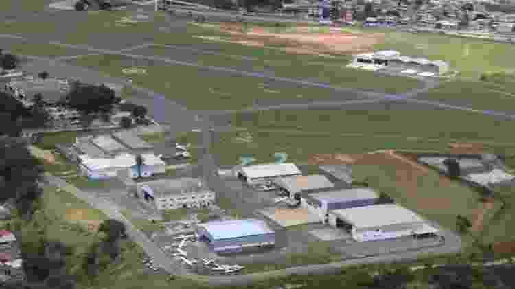 Aeroporto Carlos Prates, a 7 km do centro de Belo Horizonte - Divulgação/Aviação Brasil
