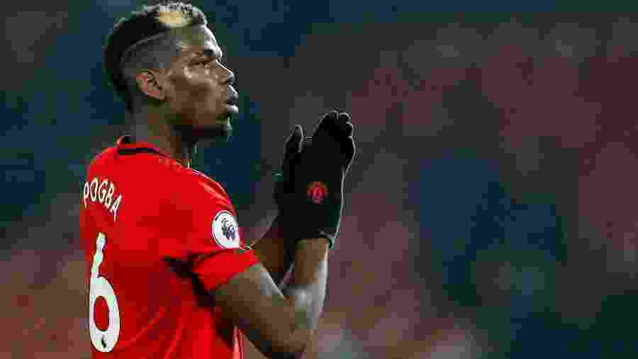 Meio-campista do United Paul Pogba - PHIL NOBLE