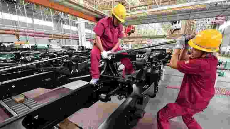 Crescimento econômico da China está desacelerando e EUA não devem atingir meta de crescimento de 3% - Getty Images - Getty Images
