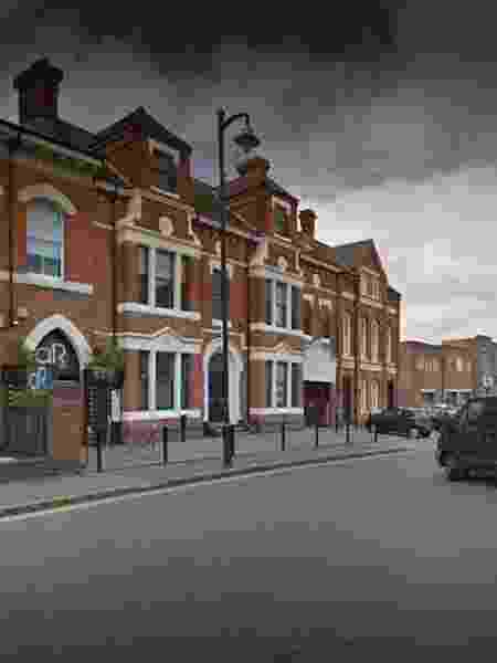 Rua onde Meera foi agredida Birmingham, na Inglaterra - Reprodução/Google Street View