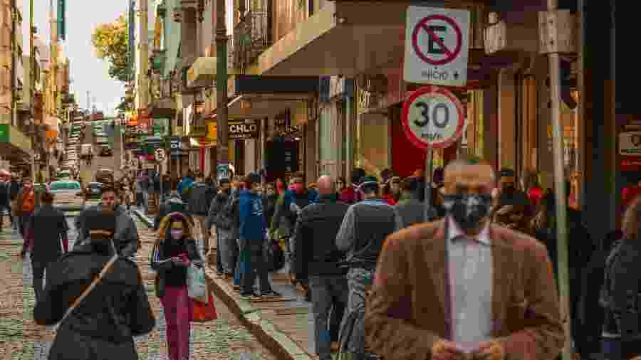 Cidade gaúcha vem registrando aumento na ocupação de leitos de UTI - Pedro Antonio Heinrich/Agência Freelancer/Estadão Conteúdo