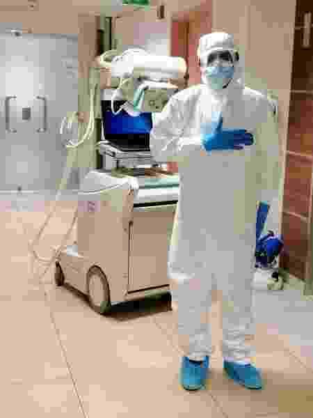 O médico radiologista libanês Joseph Daoud - Imagem cedida ao UOL