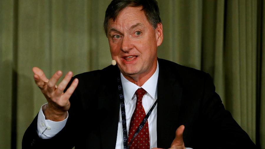 Presidente do Federal Reserve de Chicago, Charles Evans - ARND WIEGMANN