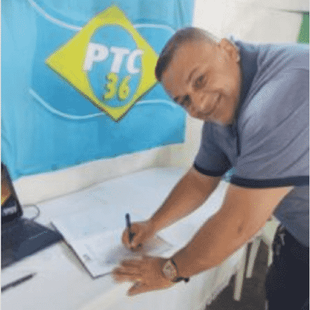 Mauro Miranda da Rocha era pré-candidato nas eleições deste ano  - Divulgação/PTC