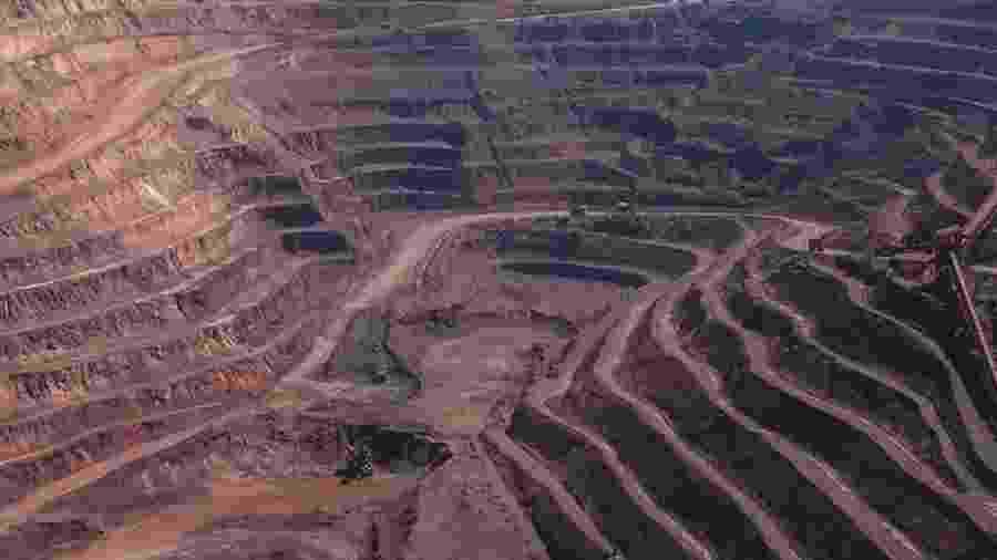 Projeto de mineração da Vale em Canaã dos Carajás, no Pará - Danilo Verpa/Folhapress