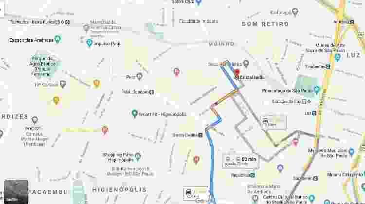 cristolândia - google maps - cracolandia - Reprodução/ Google Maps - Reprodução/ Google Maps