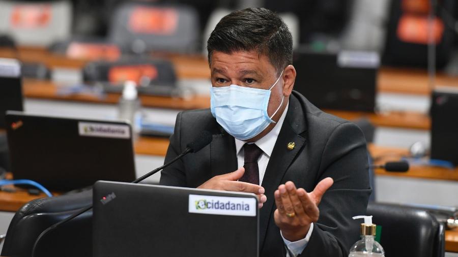 """O senador Carlos Viana (PSD-MG) acredita que o STF tem """"invadido os outros poderes""""  - Edilson Rodrigues/Agência Senado"""