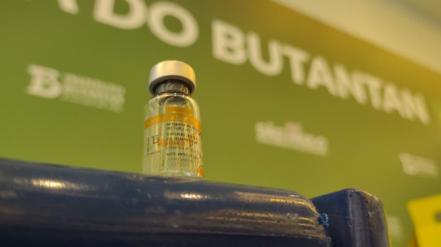 Anvisa faz alerta para diferença entre envasamento monodose da CoronaVac envasado na China e multidose no Brasil - Arthur Stabile/UOL