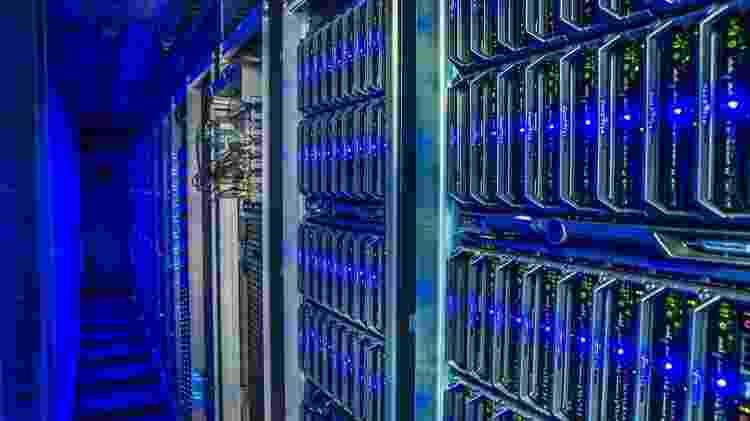 A 'mineração' de criptomoedas acontece nos servidores - Getty Images - Getty Images