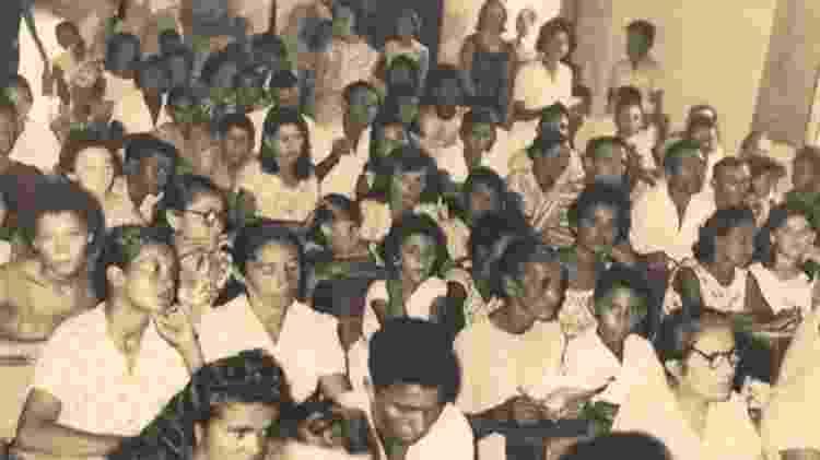 Cerca de 300 moradores de Angicos participaram do curso de alfabetização de adultos e ganharam o direito ao voto - Reprodução - Reprodução
