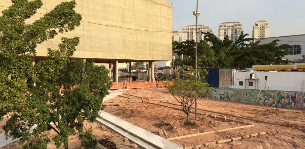 """Obras abandonadas do Museu do Trabalhador, conhecido como """"Museu do Lula"""" e concebido para contar a história do movimento sindical do ABC Paulista e das greves no final da década de 1970 e início da de 1980"""