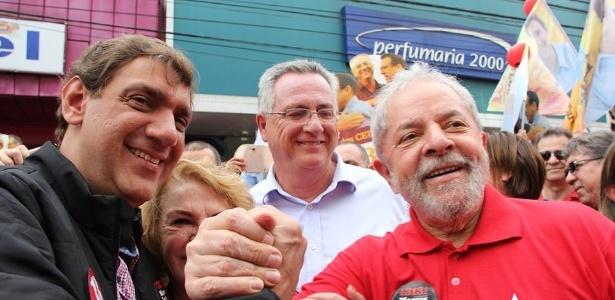 À esquerda, Marcos Cláudio Lula da Silva, filho de Lula, alvo de diligência de busca e apreensão nesta terça-feira (10)