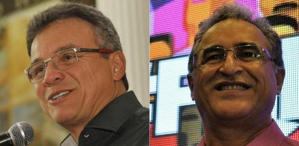 Os candidatos à Prefeitura de Belém Zenaldo (PSDB) e Edmilson Rodrigues (PSOL)