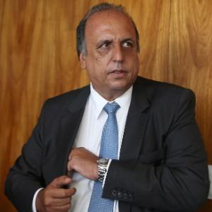 Luiz Fernando Pezão (PMDB), governador do Estado do Rio, durante reunião em Brasília