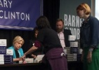 Em lançamento de livro, eleitores de Hillary tentam responder