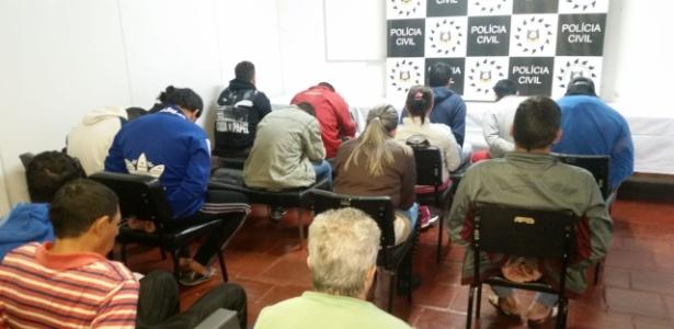 Polícia Civil prendeu dezenas de pessoas nesta terça-feira (24) no Rio Grande do Sul - Divulgação/Policia Civil
