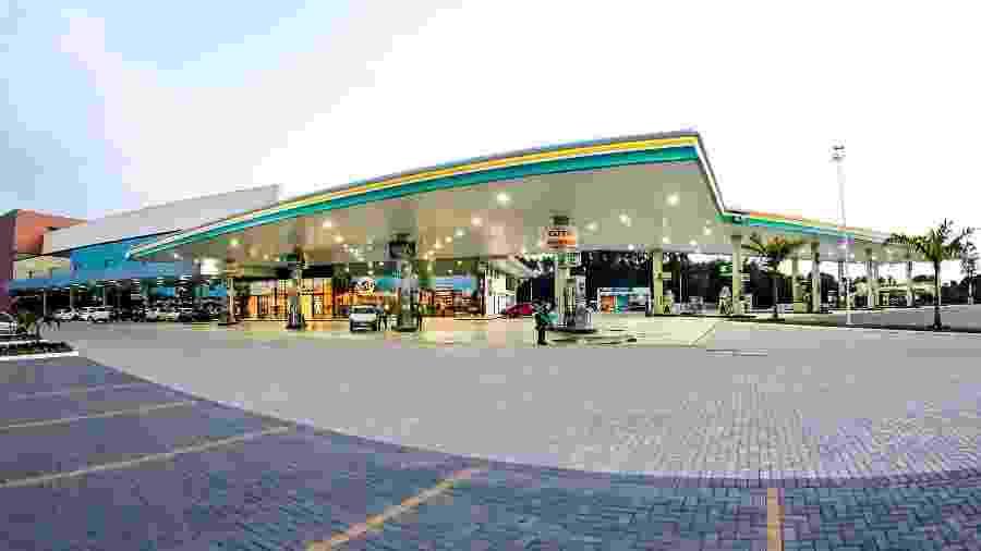 Posto de gasolina da BR Distribuidora - Marcio Roberto Dias/Agência Petrobras
