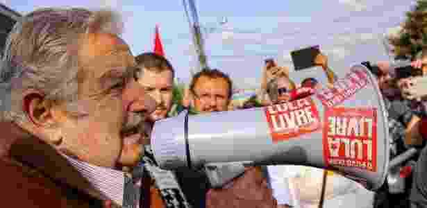 Ex-presidente do Uruguai, Jose Mujica, visita Lula na sede da PF em Curitiba - Reprodução/Lula.com.br - Reprodução/Lula.com.br