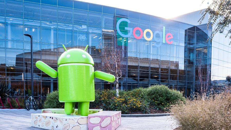 Android na sede do Google - Getty Images