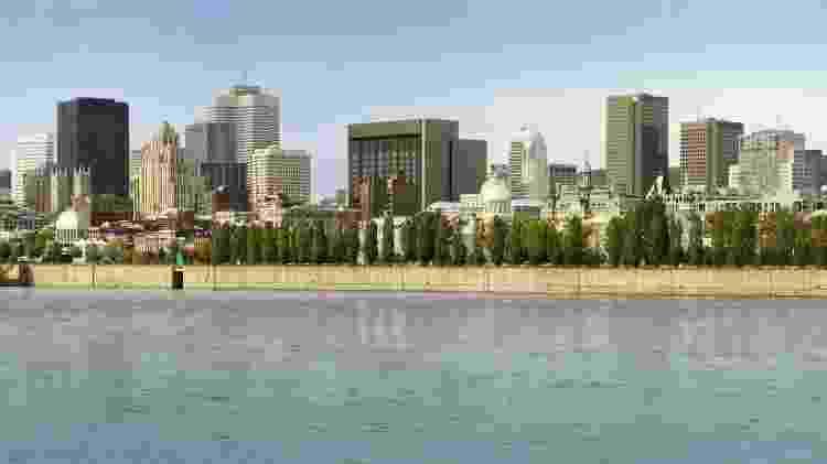 Vista da cidade de Montréal, na província de Québec, no Canadá - Reprodução/Denis Labine/Ville de Montréal/Flickr