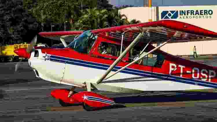 Eduardo Bregaita sonhava com a aviação militar, mas não seguiu a carreira por um problema na vista - Arquivo pessoal