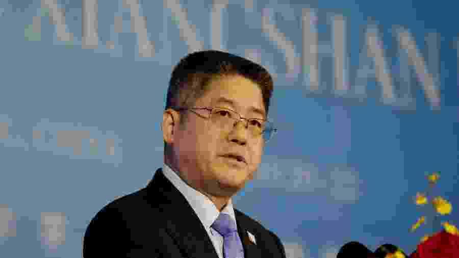 Vice-ministro das Relações Exteriores da China Le Yucheng - Por Ben Blanchard