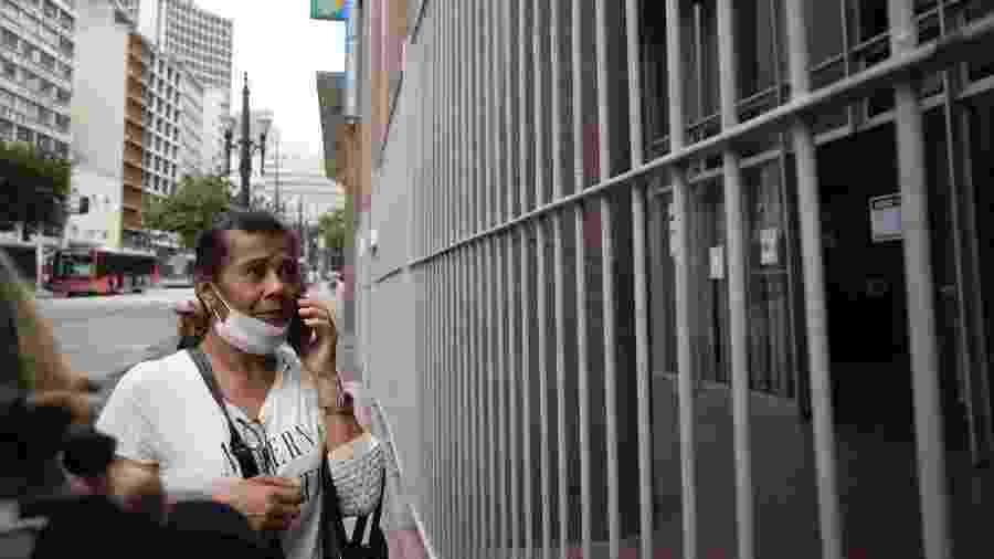 Prédio do INSS no centro de São Paulo fechado por conta da pandemia do novo coronavírus - André Porto/UOL