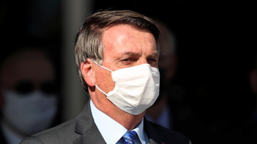 O presidente Jair Bolsonaro (sem partido) criticou hoje quem o acusa de não agir diante das queimadas na Amazônia -