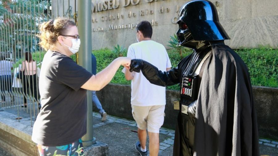 """O dia 4 de maio é internacionalmente lembrado como o """"Star Wars Day"""" - Divulgação/Prefeitura do Rio"""