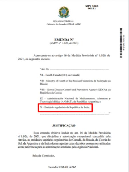 Emenda 2 - Projeto Comprova - Projeto Comprova - Projeto Comprova