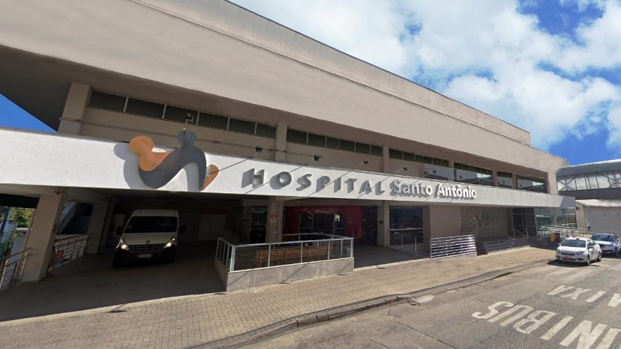 Paciente tinha estado delicado, mas fugiu do hospital Santo Antônio - Divulgação