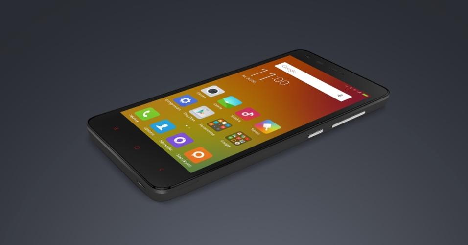 Redmi 2 tem tela de 4,7 polegadas, 8 GB de armazenamento e processador quad-core
