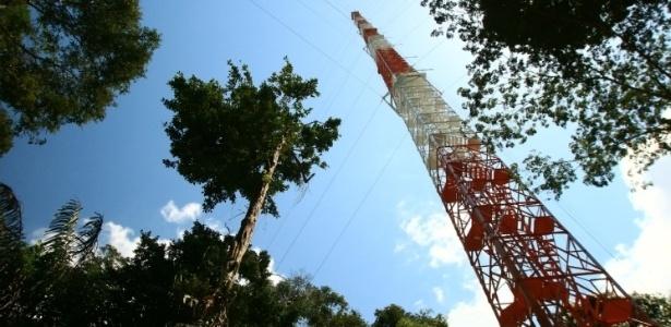 O Observatório de Torre Alta da Amazônia, localizado no município de São Sebastião do Utumã, a 150 quilômetros de Manaus