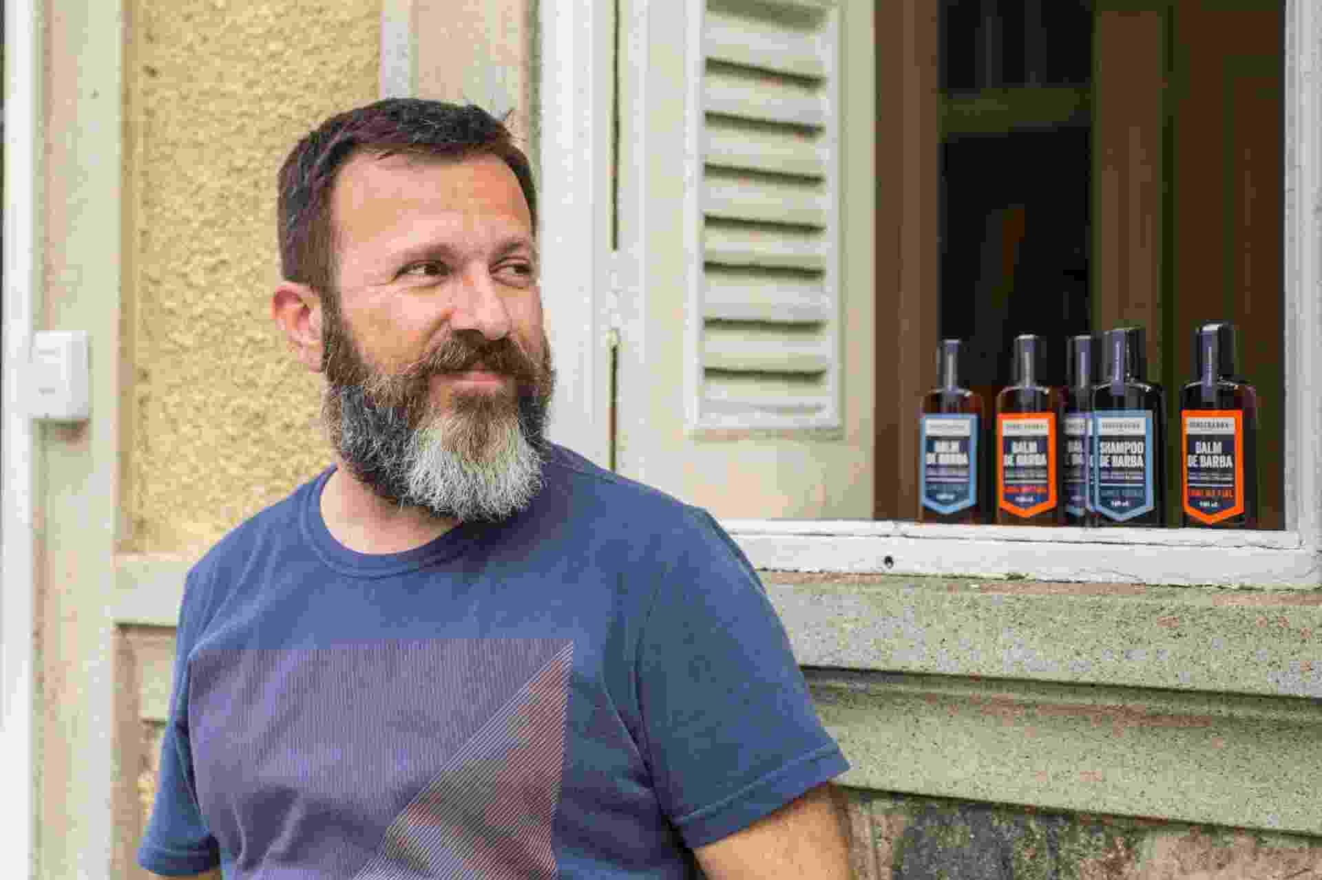 Samuel Tonin, fundador da Sobrebarba - André Bittencourt/Divulgação