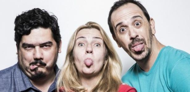 """Lanna (esquerda), Mendonça e Fernandes: três das quatro cabeças do """"Sensacionalista"""""""
