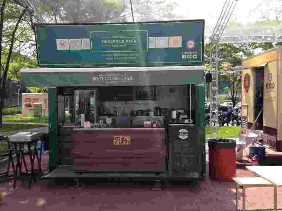 Food truck da franquia Boteco em Casa - Divulgação