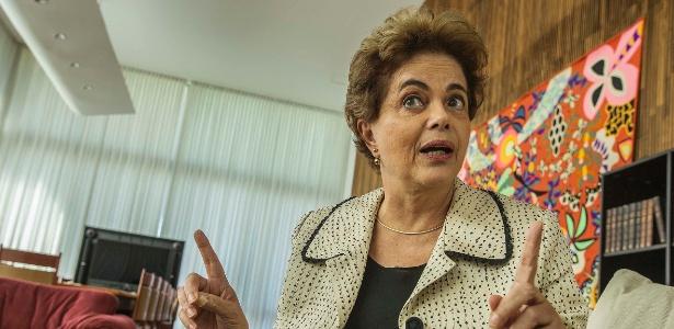 A presidente afastada Dilma Rousseff no Palácio do Alvorada - Marlene Bergamo - 26.mai.2016/Folhapress