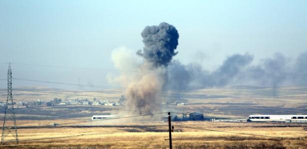 Bombardeio norte-americano contra vila no Iraque dominada pelo Estado Islâmico