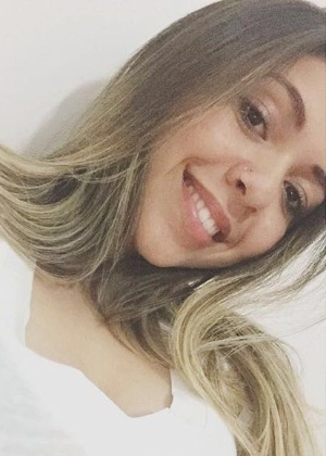 A brasileira Anna Stéfane Radeck, detida em um abrigo de menores em Chicago depois de viajar aos EUA desacompanhada