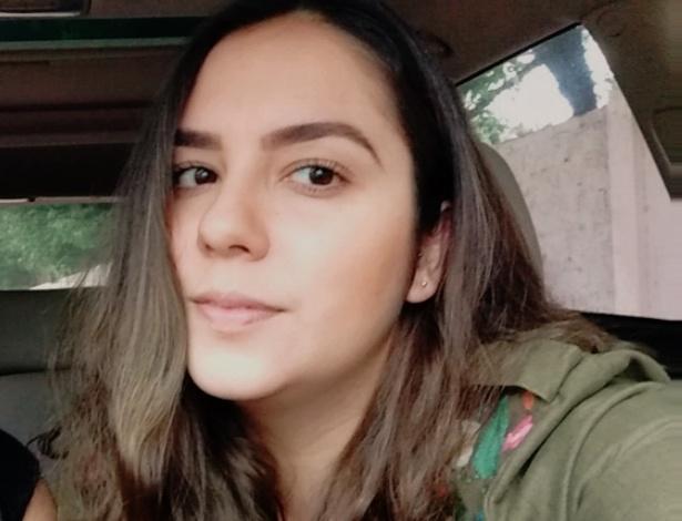 A professora Tarsila Baylão, que teve post que viralizou ao dar dicas de redação