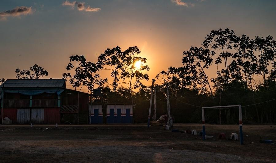 Porto da Maribel, no município de Uruará, é o principal acesso das populações indígenas e ribeirinhas às áreas urbanas desta região no Pará
